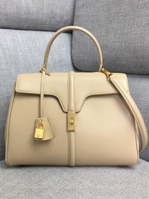 2019 celine original smooth calfskin medium 16 bag 187373 nude