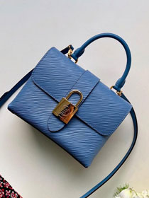 2019 louis vuitton original epi leather locky bb M53159 blue