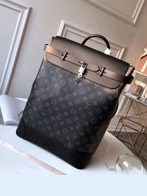 Louis vuitton original monogram eclipse explore backpack m40528 black
