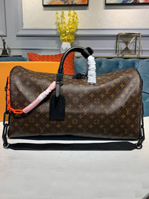 2019 louis vuitton original monogram canvas keepall bandouliere 50 M44471