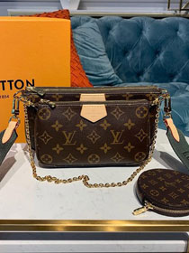 2020 louis vuitton original monogram multi pochette M44813