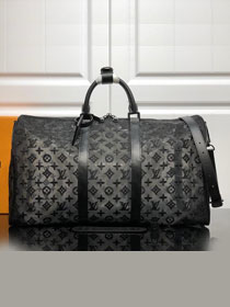 2019 louis vuitton original monogram keepall 50 M53971 black
