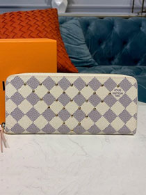 Louis vuitton damier azur zippy wallet N60252