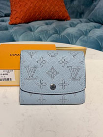 Louis vuitton mahina anae coin purse M64050 light blue