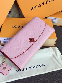 Louis vuitton monogram empreinte wallet M64162 pink