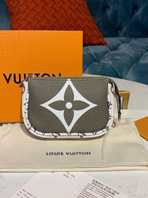 Louis vuitton monogram micro pochette accessories M67579  khaki