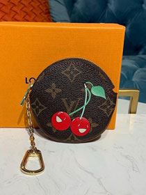 Louis vuitton monogram round coin purse M62088