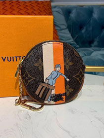 Louis vuitton monogram round coin purse M94503
