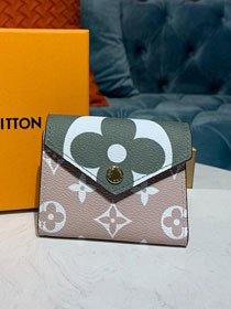 Louis vuitton monogram sarah wallet M67640 green