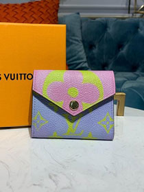 Louis vuitton monogram sarah wallet M67641 purple