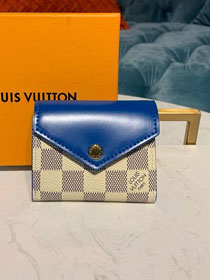Louis vuitton monogram zoe wallet N60219 blue