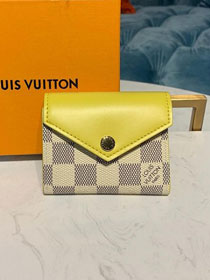 Louis vuitton monogram zoe wallet N60220 yellow