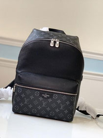 Louis vuitton original taiga leather discovery backpack M30230 black