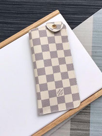 Louis vuitton damier woody sunglasses case M00284
