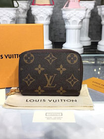 Louis vuitton monogram double zippy wallet M58106