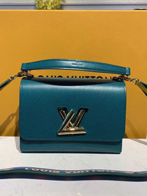 2020 louis vuitton original epi leather twist mm M50282 turquoise