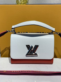 2020 louis vuitton original epi leather twist mm M50282 white