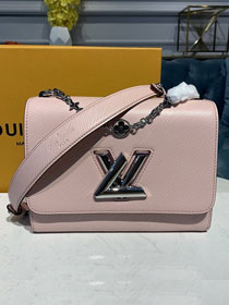 2020 louis vuitton original epi leather twist mm M55411 pink
