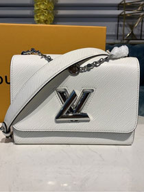 2020 louis vuitton original epi leather twist mm M55411 white