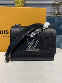 2020 louis vuitton original epi leather twist pm M55412 black