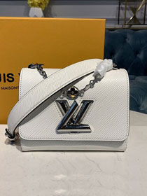 2020 louis vuitton original epi leather twist pm M55412 white