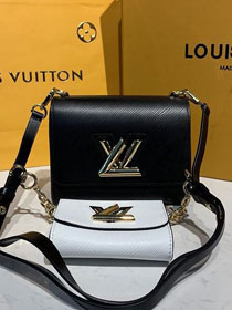 2020 louis vuitton original epi leather twist pm M50280 black