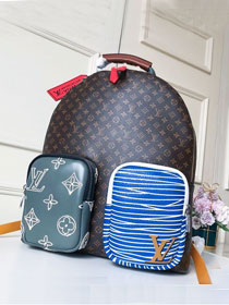 Louis vuitton original monogram canvas backpack M56853