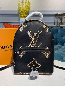 2020 louis vuitton original monogram palm springs backpack M44718 black