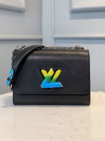 2020 Louis vuitton original epi leather twist mm M56327 black