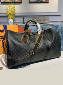 Louis vuitton original monogram eclipse  keepall 50 M58669