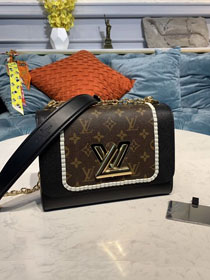 Louis vuitton original monogram&calfskin twist mm M44837