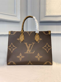 2020 louis vuitton original monogram canvas onthego tote bag MM M45321