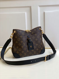 2020 Louis vuitton original monogram canvas odeon PM M45353 black