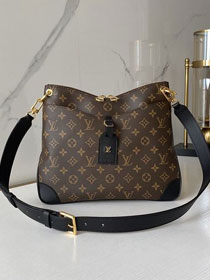 2020 Louis vuitton original monogram canvas odeon mm M45352 black