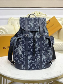 Louis vuitton original monogram tapestry canvas backpack m57280
